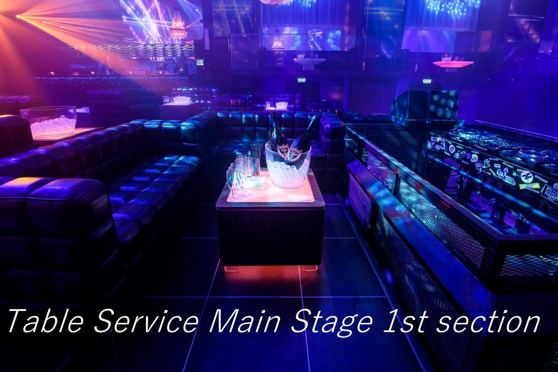 Table Service Escape Amsterdam